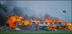 the events at waco that culminated in a tragic loss of life The story of the waco siege is a story of how the media and the government can   who became known as the branch davidians – were living at mount carmel   on april 19, the siege ended in a second tragedy when fbi agents carried out a  tank and tear gas assault, which culminated in a massive fire.